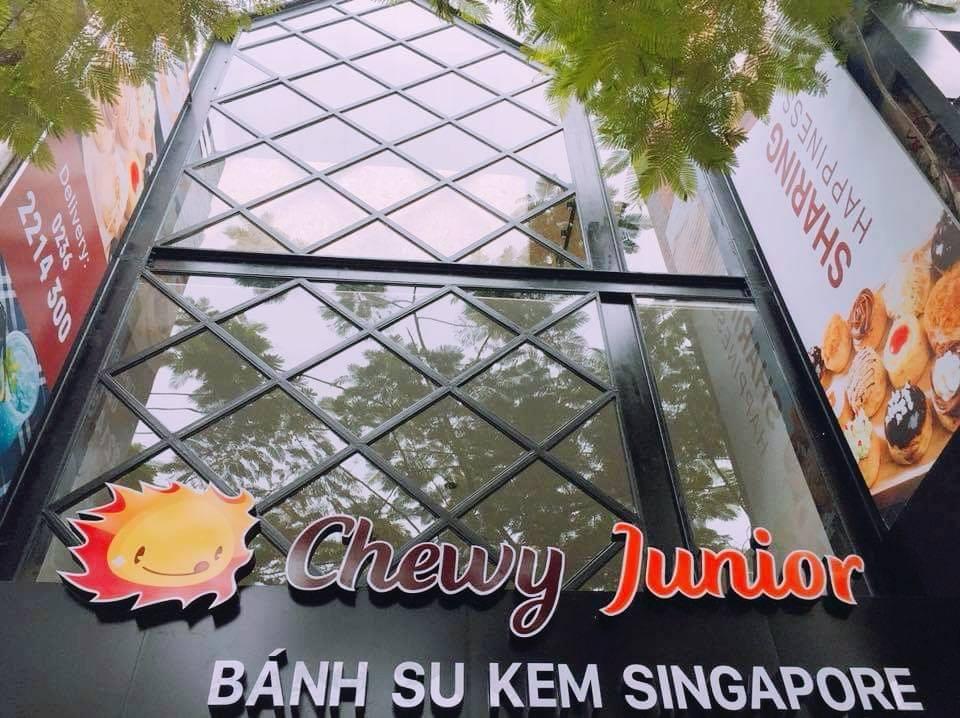 Cửa hàng bánh su kem Chewy Junior tại Đà Nẵng