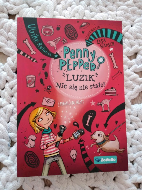 Penny Pepper - przygody małej detektywki od Wydawnictwa RM