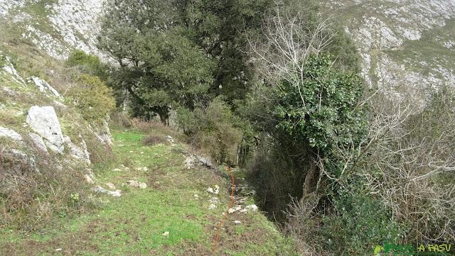 Bajando al Sabugo, Ribadesella