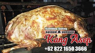Barbeque Kambing Guling di Maribaya Bandung