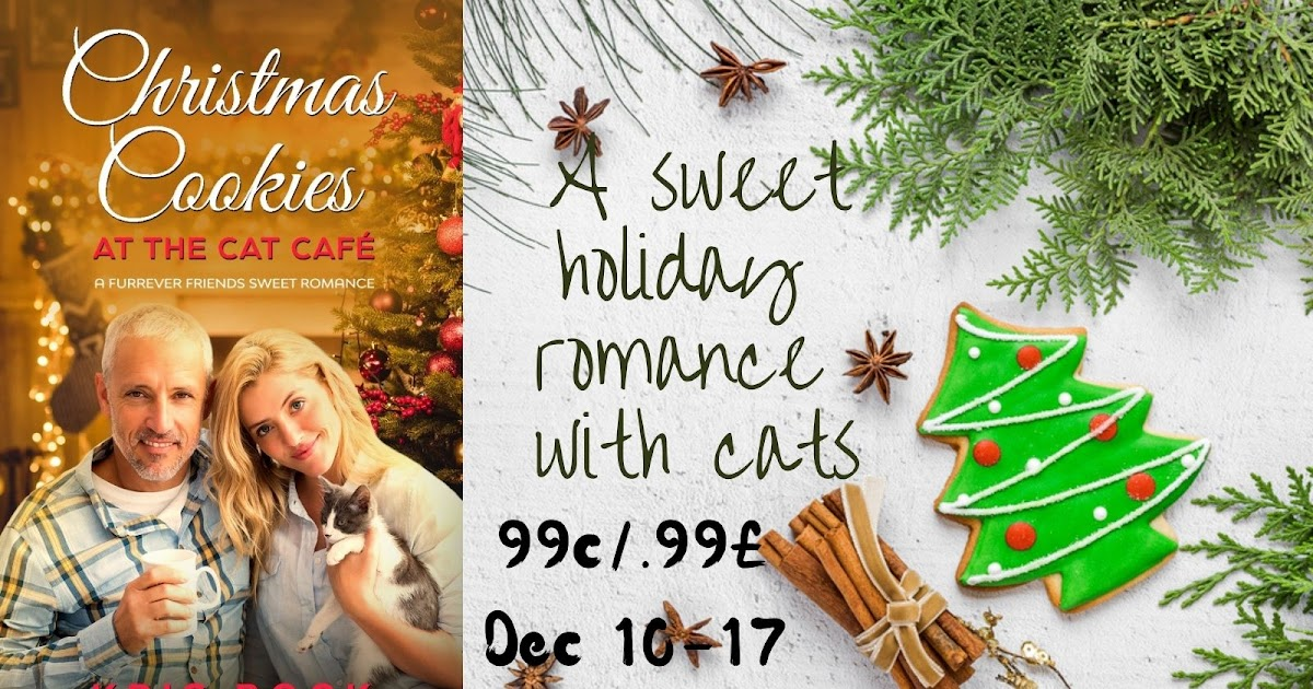 #Christmas Cookies at the Cat Café is 99 cents/99 £ Dec 10-17 – 67% off! #romance #sweetromance
