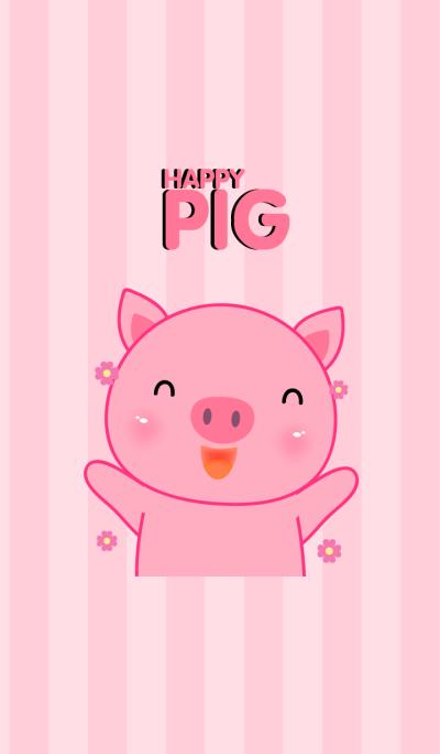 Happy Pig Icon theme