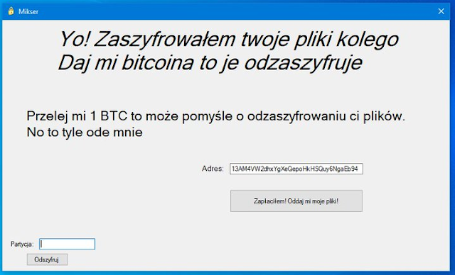 Mikser (Ransomware)