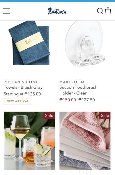 Rustans on Sale at PayMaya Mall
