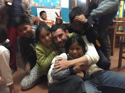 Jordi en el proyecto de Perú