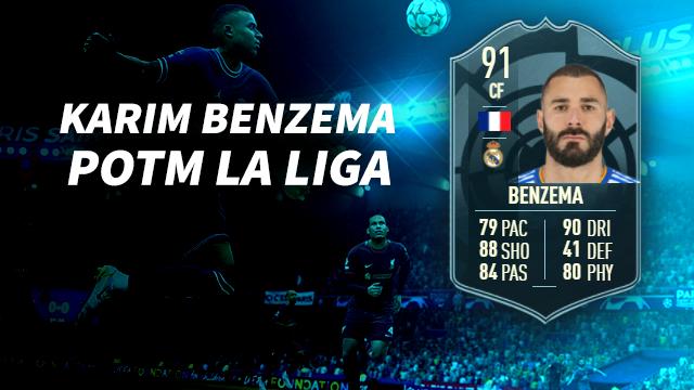 Karim Benzema POTM La Liga FIFA 22