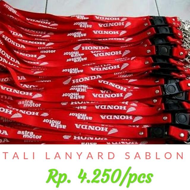 Toko tali lanyard online termurah dan terlengkap di Jakarta