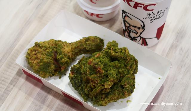 RASA AYAM GREEN CHILI CRUNCH KFC MALAYSIA