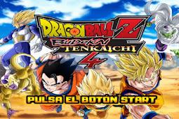 Dragonball Z Budokai Tenkaichi 4 Mod PS2 ISO