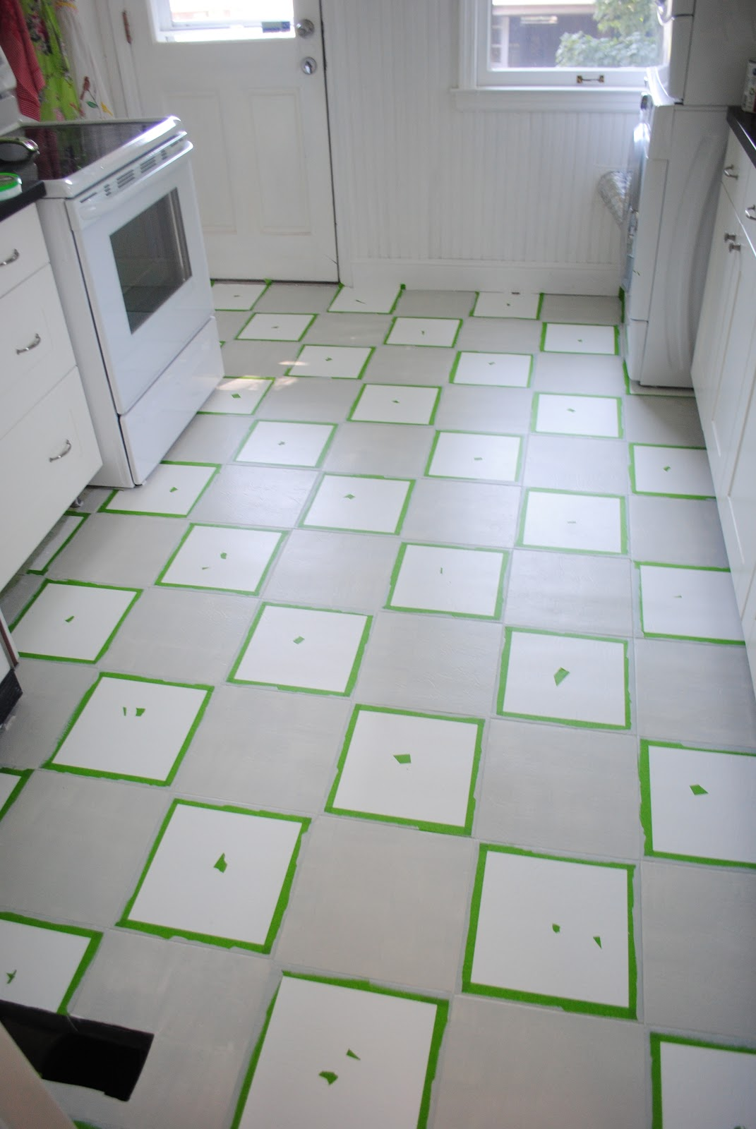 Ruffles Amp Rhythms Painted Vinyl Floors