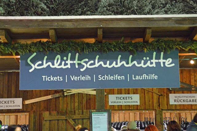 Schlittschuh laufen Winter-Zoo Hannover