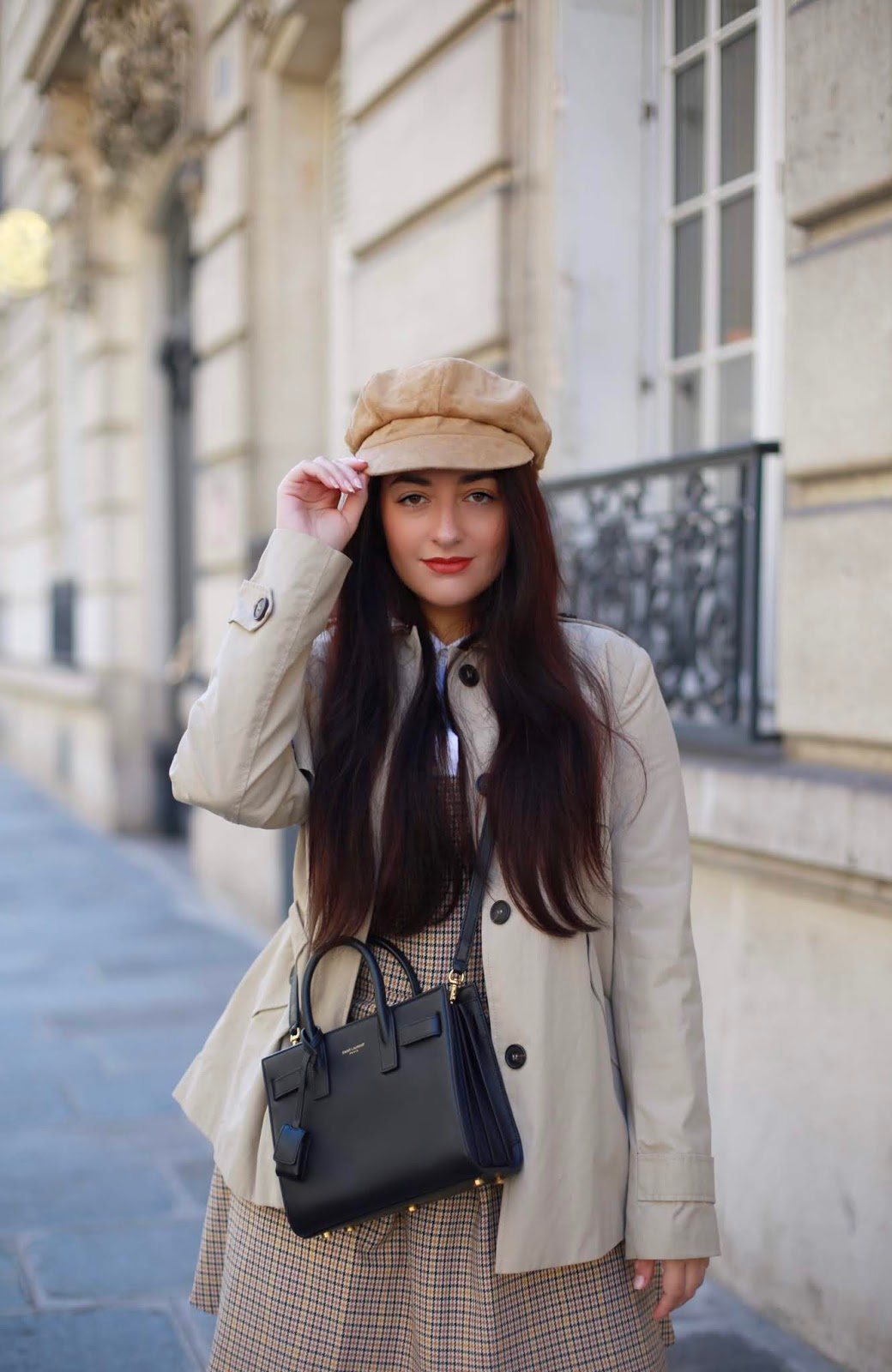 look inspiration Burberry blog mode