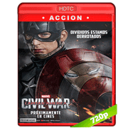 Capitán América: Civil War (2016) HECV H265 720p Audio Dual Latino-Ingles (Ligera)