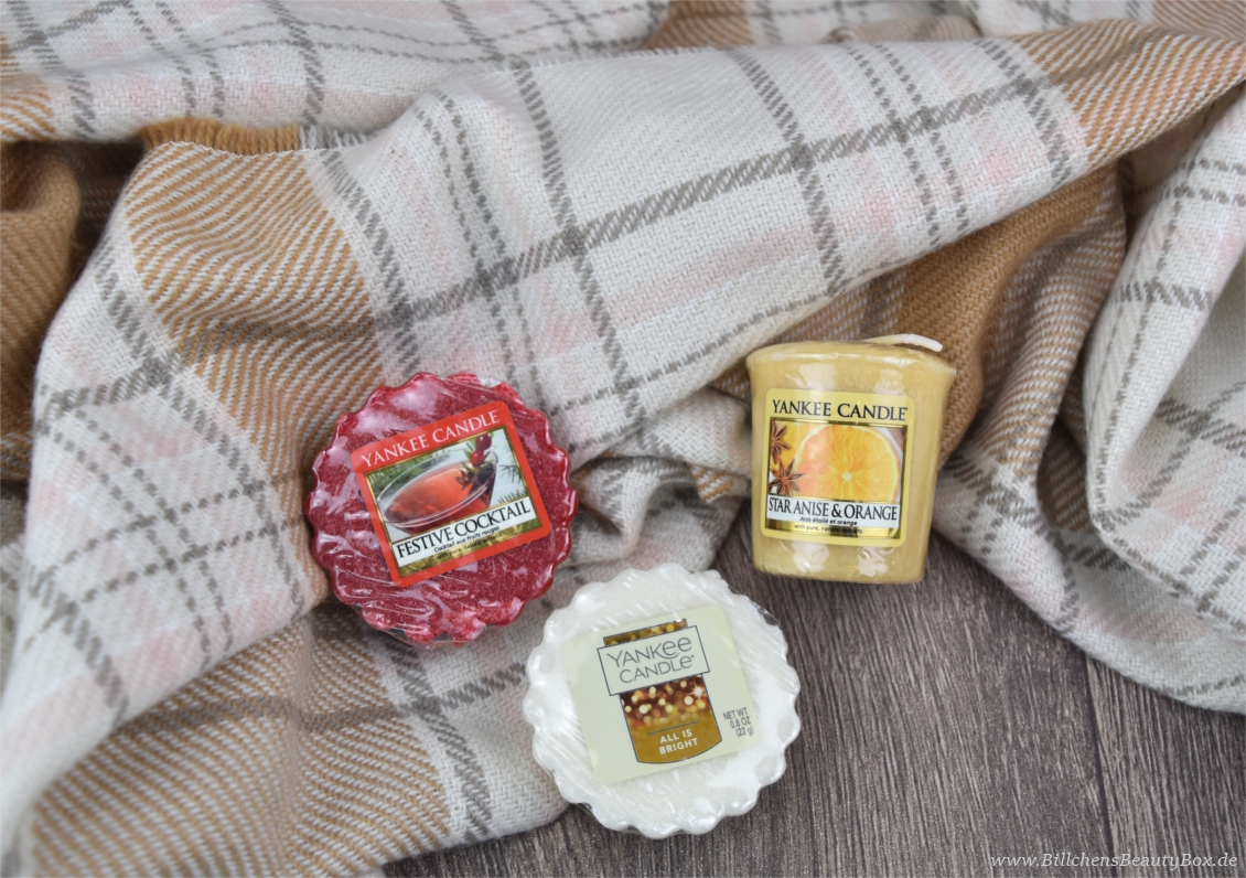 Yankee Candle -  Holiday Party Kollektion - Duftbeschreibungen & Review