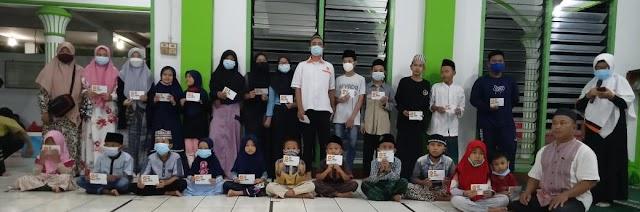 Penghujung Ramadhan, PKS Cikupa Berbagi Kebahagian