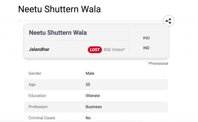 Neetu Shutteran Wala