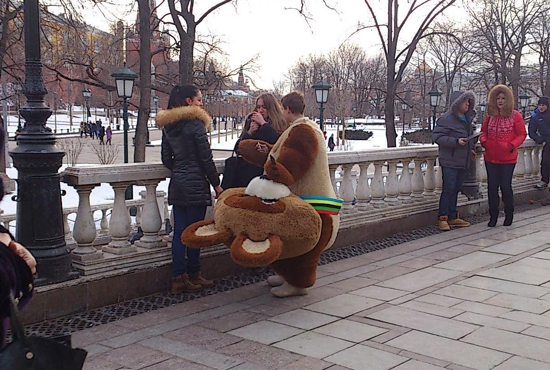 Maskotka Sochi