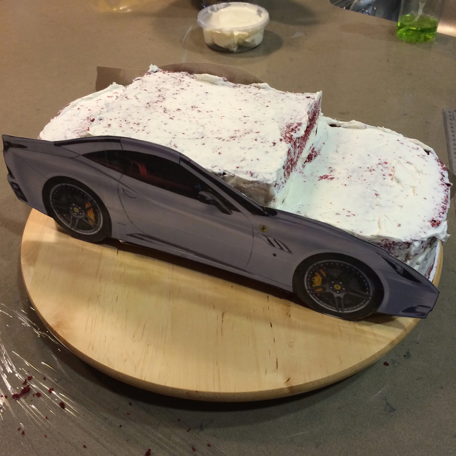Make Sure You Google A Lot Of Pictures To Help Understand The Curves Car When Yousculpt Cake Trim Little More Than Think
