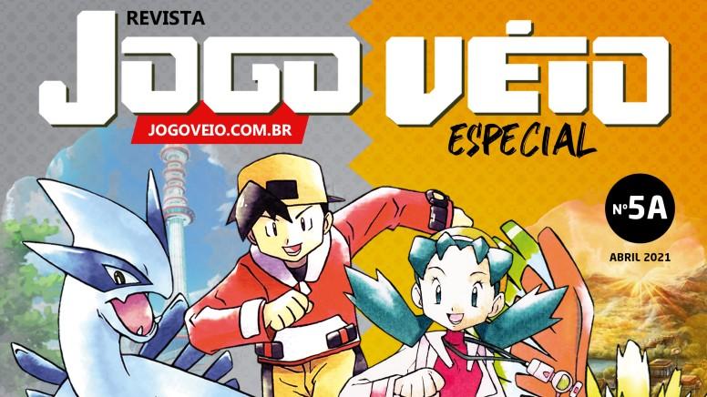 Revista Jogo Veio Edição Especial Pokémon Gold e Silver