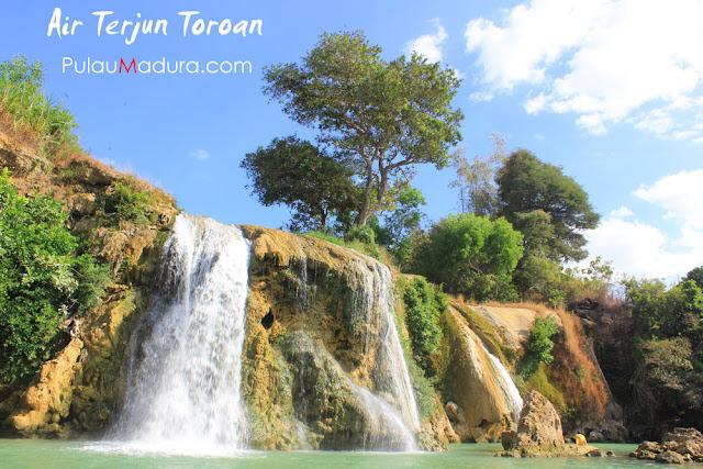 Obyek Wisata Air Terjun Toroan - Kabupaten Sampang