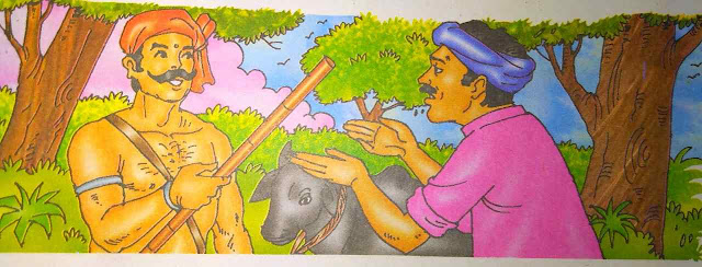 बुद्धिमान किसान New Hindi Interesting Stories For Kids