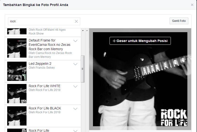 Cara Membuat Sendiri Bingkai/Frame Foto Profile Facebook