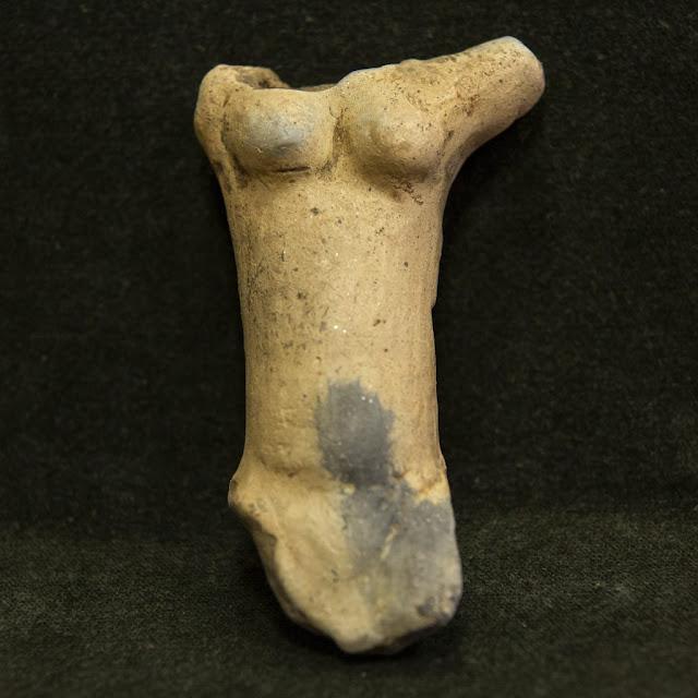 6500-year-old statuette 'Venus of Egerszeg' showcased