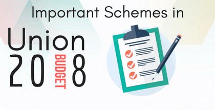 Important Schemes in Union Budget (2018-19)