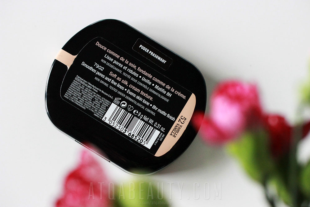Bourjois, SIlk Edition Compact Powder, 52 Vanilla