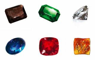 symbolize precious gems