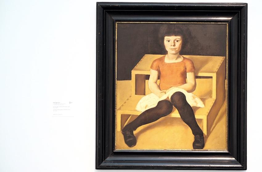 Albin Egger-Lienz, Ila, die jüngere Tochter des Künstlers (1920)