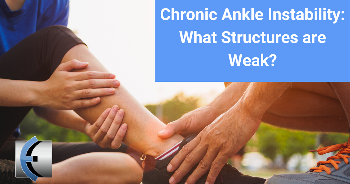 Photo of Chronic ankle instability: what structures are weak? | Modern Manual Therapy Blog