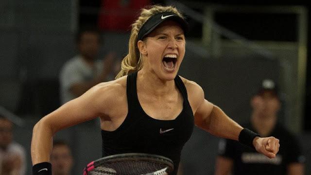 Bouchard Hentikan Langkah Sharapova