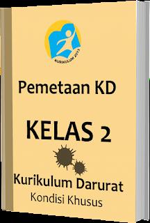 Pemetaan KD Kurikulum Darurat pada Kondisi Khusus Kelas 2 SD/ MI, www.gurnulis.id