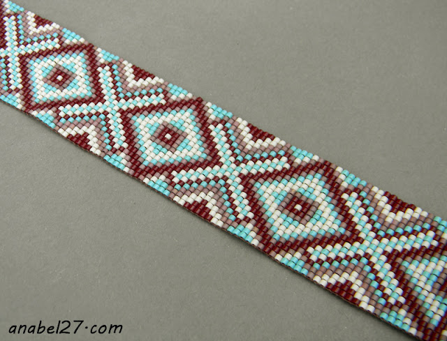 loom beadwork beading bracelet beaded jewelry ethnic style
