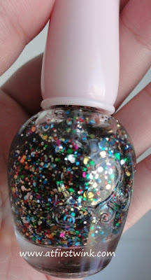 Etude House PWH901 nail polish (Deborah Lippmann happy birthday dupe)