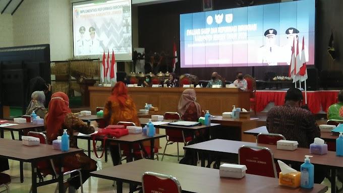 Sistem Evaluasi Kinerja Instansi Pemerintah ( SAKIP) Kabupaten Jember  Daring Kemenpan Tahun 2020