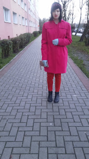 Pretty in pink coat