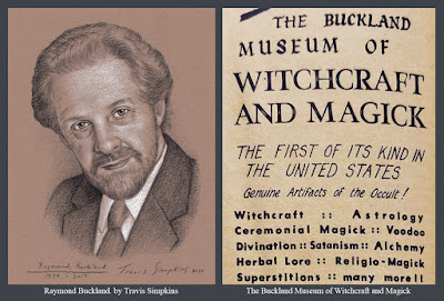 Raymond Buckland. Seax-Wica. Buckland Museum of Witchcraft and Magick. by Travis Simpkins