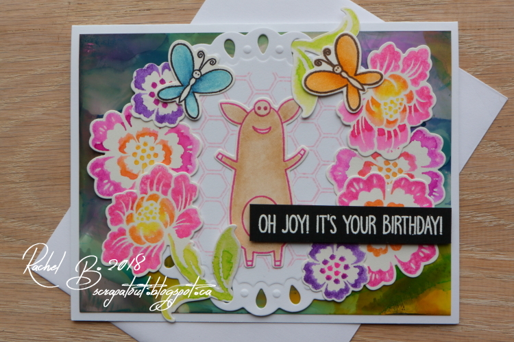 MFT Sow Much Cuteness, Sizzix Hero Arts Framelits, Spellbinders, IO stamps
