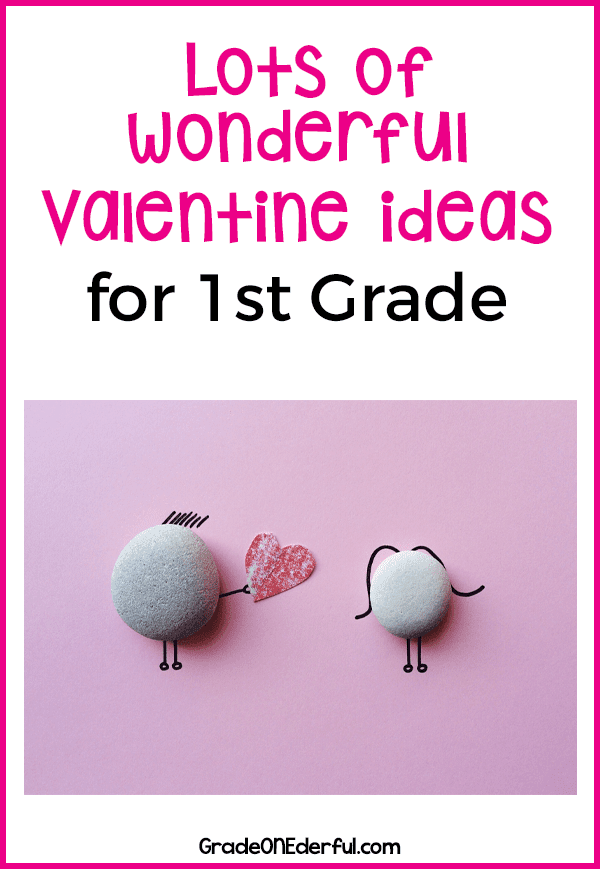 A collection of Valentine ideas for the Grade 1 classroom. Spelling Cootie Catchers, estimating and counting conversation hearts, and heart-shaped panda bear craft. #valentines #valentinesforkids