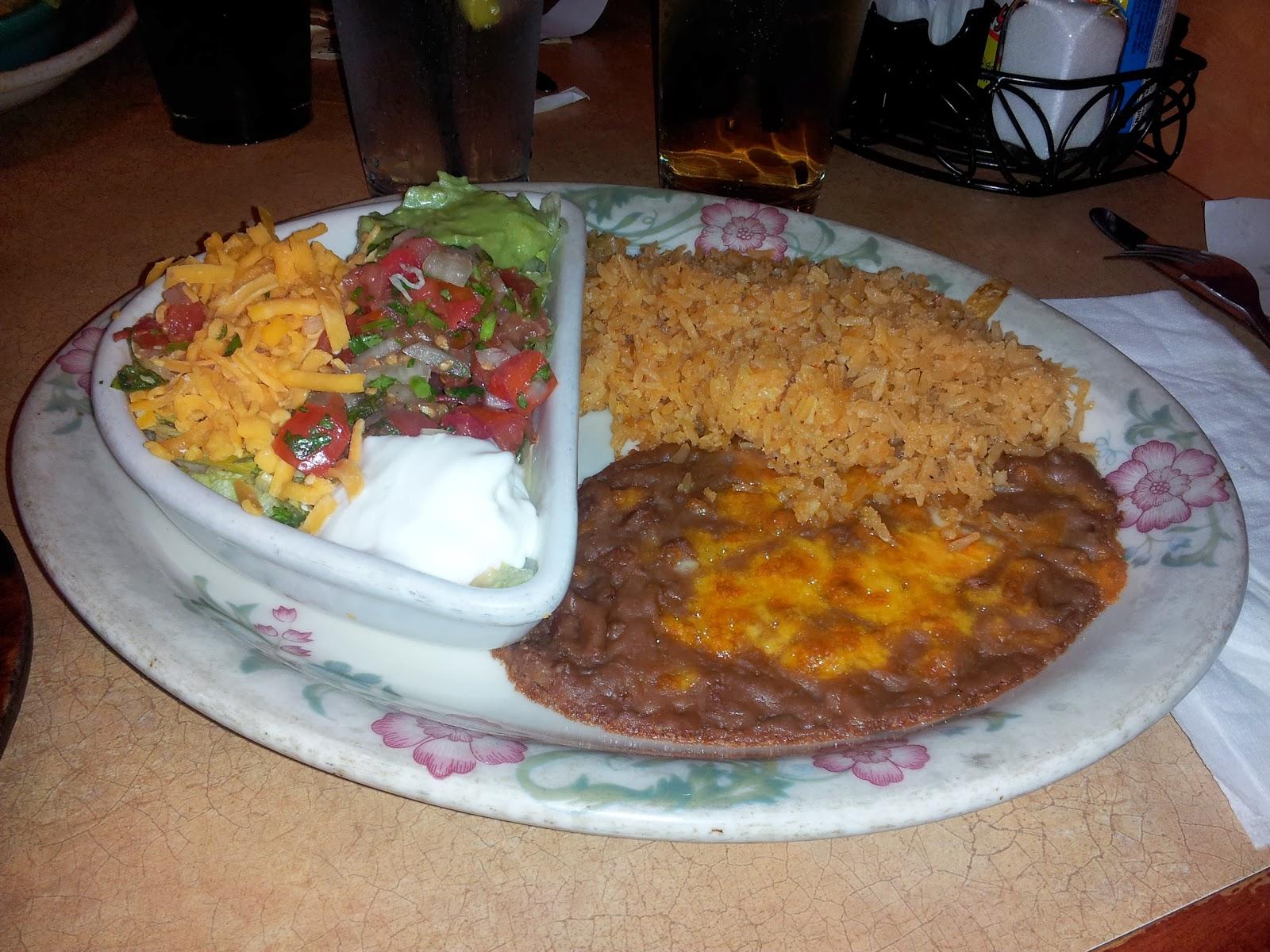 Azteca Mexican Restaurant Menu