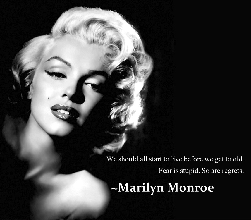 Marilyn Monroe Quotes: Candy Colored Sky