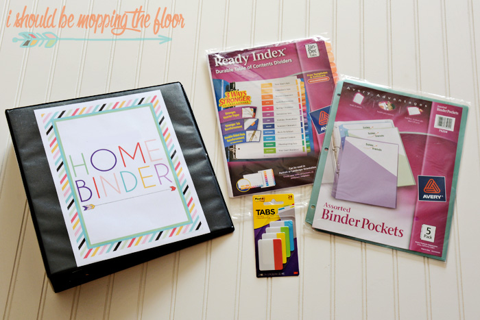 What to Put in Your Home Binder