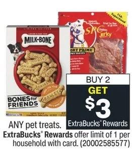 Blue Buffalo Pet Treat Deals at CVS 6/13-6/19