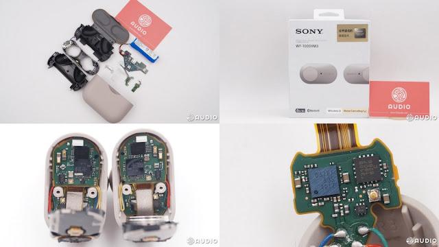 Sony WF-1000XM3 teardown