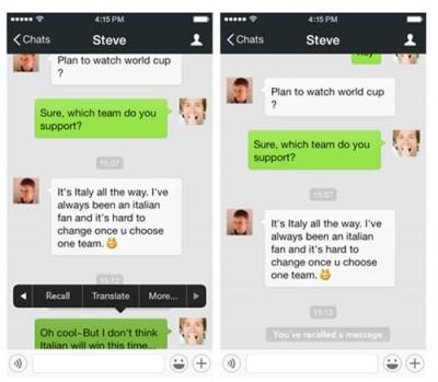 WeChat 5.3.1 Hadirkan Fitur Pembatal Pesan yang Telah Dikirim