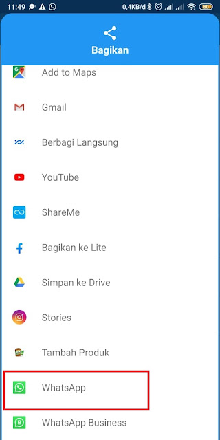 Cara Mengirim Aplikasi lewat Whataspp (4)