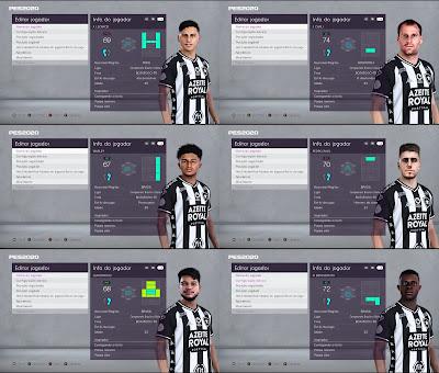 PES 2020 Facepack Botafogo
