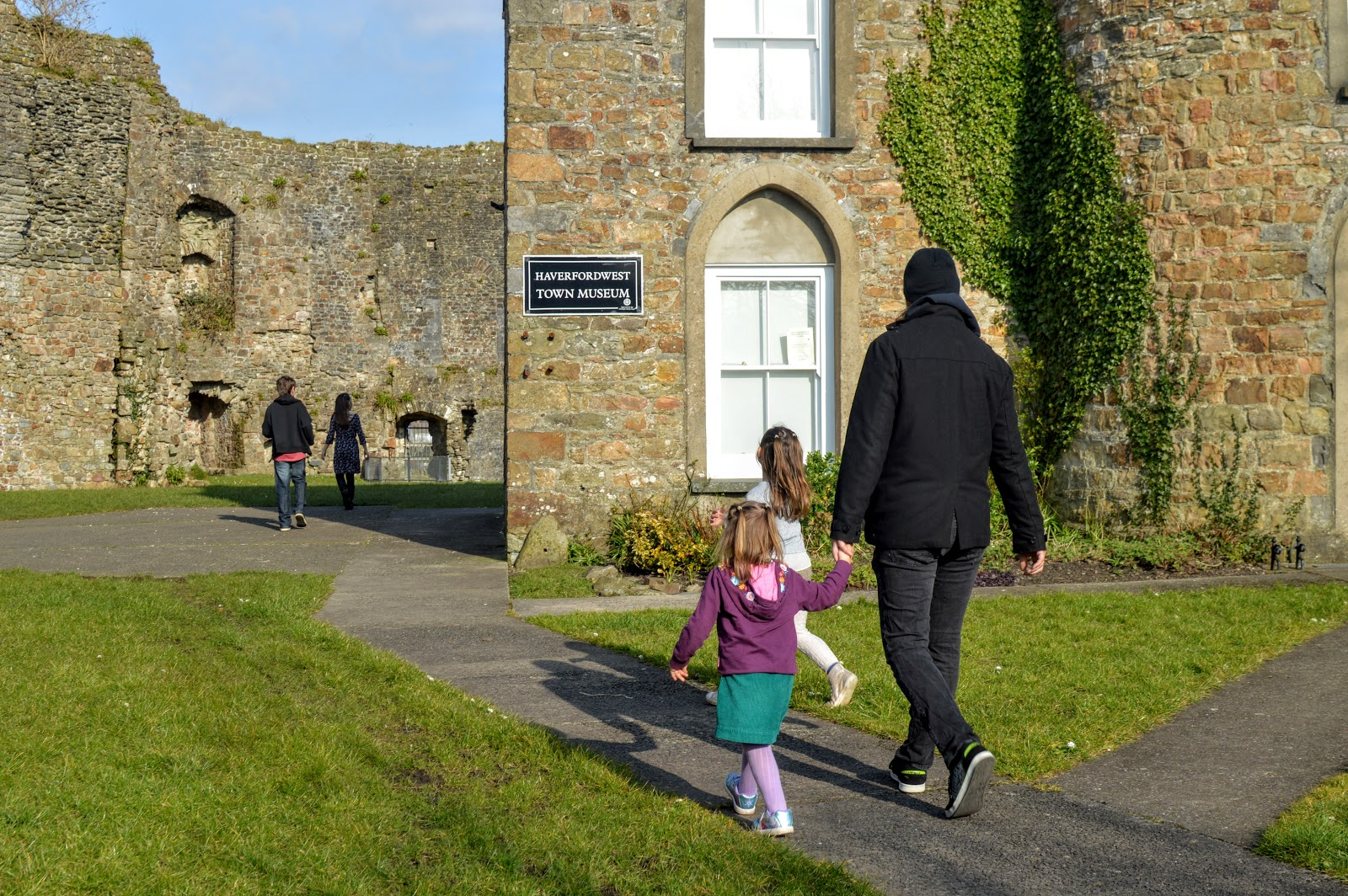 , Family Days Out / Haverfordwest County Town and Castle, Pembrokeshire